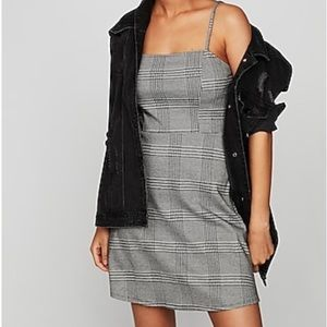 Express NWT Square Neck Fit And Flare Dress